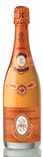 Cristal Rose' 2002 champagne