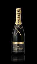 Moet 2000 bottle