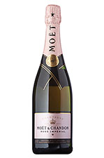Moet Rose Imperial bottle